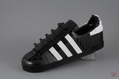Adidas Superstar (J.B.F) Tags: jimmyfortel jbf 6kyubi6 lego moc sneaker adidas superstar shoes legoobject 80s