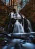 Waterfall in an enchanted forest (Olof Virdhall) Tags: waterfall water enchanted forrest outdoor longexposure canon eos5 mkiii olofvirdhall