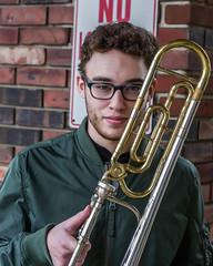 Jersey Shore Trombone Boy