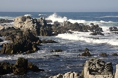 Crashing waves at Lover's Point (birdgal5) Tags: crashingwaves california montereycounty pacificgrove loverspoint nikon d100 24120mmf3556gvr