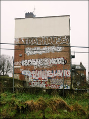 Various... (Alex Ellison) Tags: northwestlondon trackside force 4ce urban graffiti graff boobs traphouse enta nerd nels ceas