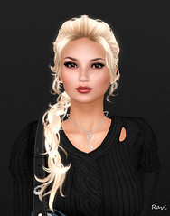 Hmm (| Raven |) Tags: sl second life ravishing ravi portrait woman