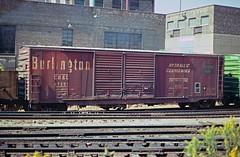 CB&Q Class XM-3B 47251 (Chuck Zeiler) Tags: cbq class xm3b 47251 burlington railroad box car boxcar freight chicago chz chuck zeiler