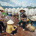 Women Creating Calcium Carbonate, Dien Bien Phu Vietnam