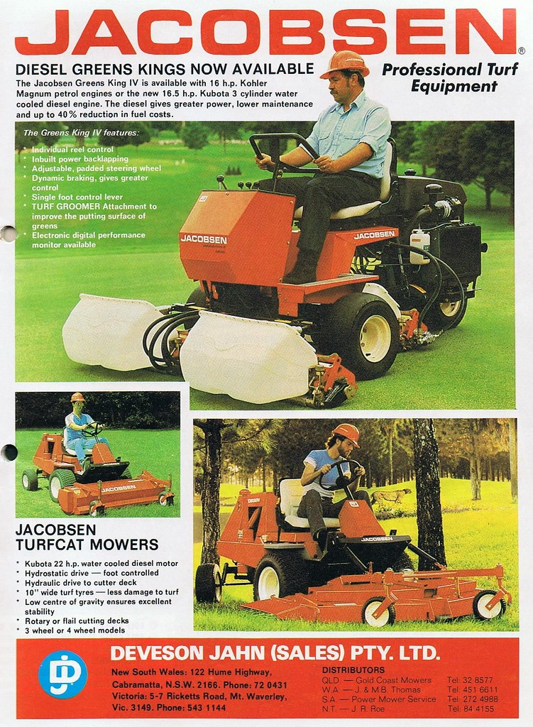 The World\'s newest photos of jacobsen and mower - Flickr Hive Mind