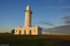 Sunset from North Head (@robinlautier) Tags: sunset sydney australia skyblue australie