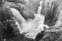 Aguasabon Falls (Bryan O'Toole) Tags: bw ontario canada water river landscape nikon scenic falls nd boardwalk gorge cp northernontario terracebay aguasabonfalls nikond810 kenkopro1d nikkorafs2470mmf28 grandodiorite