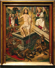Medieval Gothic Art (kate223332) Tags: barcelona art museum painting religion catalonia medievalgothicart