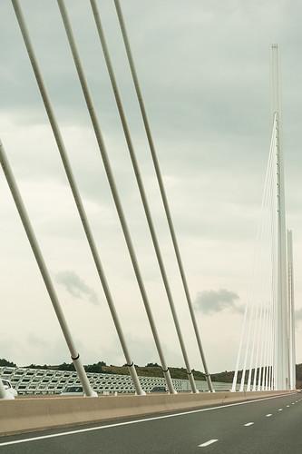 Viaduc de Millau (en roulant)