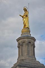 0374 - Europatour 2014 - Frankreich - Avignon - Pabstpalast (uwebrodrecht) Tags: france castle frankreich europa schloss avignon palast uwe papst brrodrecht