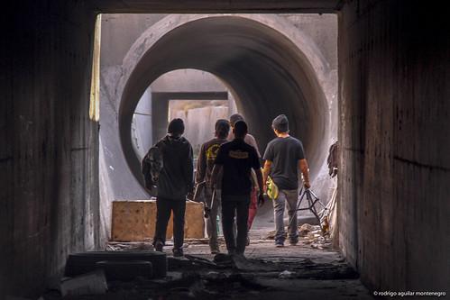 full pipe underground