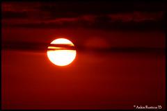 Prachtige rode lucht (Ankie Rusticus, I'm not much here) Tags: sunset sun clouds de zonsondergang wolken zon sneek geeuw