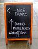England - Pub Sidewalk Sign 1 (roger4336) Tags: england beer sign pub drink sidewalk bier chalkboard blackboard 2015 nicedrinks