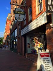 Market Square News - Portsmouth, New Hampshire (ParkerRiverKid) Tags: sign newhampshire portsmouth newsstand journalism marketsquare flickrbingo4o68 o68journalism