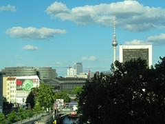 Berlin Mitte (mr172) Tags: sky berlin canon germany deutschland himmel bahnhof fernsehturm spree mitte sx200 friedrichstrase