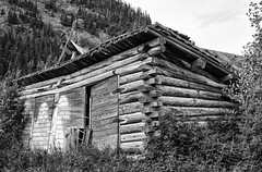 Ghost Town (punahou77) Tags: blackandwhite building abandoned alaska nationalpark ghost ghosttown copperriver chitina wrangellsteliasnationalpark nikond7100