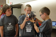 Real World Robotics and STEM Camps, July 2015, UW-Green Bay