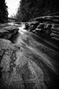 Creekside Flow, 2016.12.02 (Aaron Glenn Campbell) Tags: lrg littlerockyglen countrysideconservancy preserve tunkhannock clintontownship wyomingcounty nepa pennsylvania hdr ±2ev macphun aurorahdr2017 nikcollection bw blackandwhite rokinon 12mmf2ncs wideangle primelens manualfocus emount tiffen 3fstop ndfilter neutraldensity