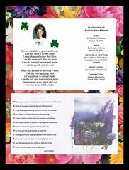 Pat Pittman card for Mom's funeral service 3 17 2001 (Monte Mendoza) Tags: poem poetry mom funeral memorialcard elmonte stpatricksday irish inmemoryof