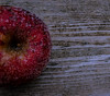 Apple and frost (Kat Hatt) Tags: apple red frost wood napanee canada kathleenhatt mpt519 matchpointwinner