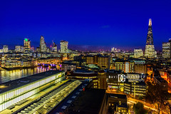 """This Is London"" Switch House, Tate Modern, London, UK (davidgutierrez.co.uk) Tags: london photography davidgutierrezphotography city art architecture nikond810 nikon urban travel color skyscraper night blue uk londonphotographer skyline tatemodern tate herzogdemeuron photographer buildings england unitedkingdom 伦敦 londyn ロンドン 런던 лондон londres londra europe beautiful cityscape davidgutierrez capital structure britain greatbritain d810 building street modernartgallery switchhouse colour openviewingterrace 360ᵒ londonskyline riverthames millenniumbridge bridge dusk bluehour twilight thames river colors colours nikon2485mmf3545gedvrafsnikkor nikon2485mm thamesriver iconic landmark reflection theshard walkietalkie"