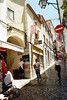 Sintra (Peter Gutierrez) Tags: photo europe european eu euro iberia iberian portugal portuguese pt foto europa europeu ibérico português libon lisboa sintra urban building construção urbana unesco world heritage old medieval city town center centre narrow streets street people tourism tourists site sites shop shops souvenir culture architectural monuments peter gutierrez petergutierrez film