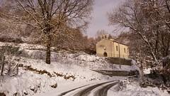 . (Marco Tiano) Tags: santasofia snow neve belsito calabria italia winter 2017 chiesa bell