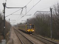 Tyne & Wear Metro 4026. Fellgate (captaindeltic55) Tags: electrictrain metro metrocar publictransport passengertrain emu tyneandwearmetro nexusmetro nexus fellgatemetrostation class994