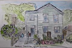 Sketchbook Charleston (cheesemoopsie) Tags: aquarelle watercolor croquis sketch