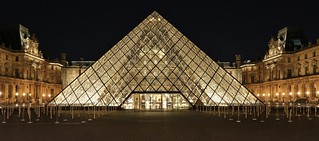 Pyramide du Louvre Cour Napoléon