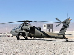 AH-64D Apache 00-05174 1-285Avn Arizona-National-Guard, U.S.Army. Tarin Kowt, Uruzgan, Afghanistan. September 2007. (Aircraft throughout the years) Tags: mcdonnell douglas ah64 boeing arizona ah64d apache 0005174 1285avn arizonanationalguard arizonang usarmy tarin kowt tk tarinkowt uruzgan afghanistan september 2007