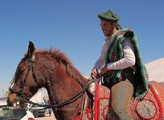 Bandolero  en la I Feria Empresas y Turismo (ACETA) -Alameda (Málaga) (lameato feliz) Tags: caballo jinete bandolero alameda