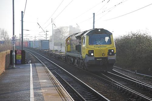 70016 at Stowmarket
