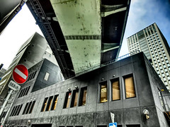 Hanshin Expressway, Osaka (jtabn99) Tags: 20170119 osaka hanshin expressway japan nippon nihon chuoku street way over 阪神高速道路 大阪 中央区 本町 中央大通