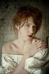 The Cellar 6 (Mark_Dangerous) Tags: woman model vintage poisonapple cellar dark fairytale magical medieval corset dress evil photoseries colorgrading photostory spell femmefatale portrait