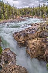 Lower Sunwapta Falls - The Beginning (John Payzant) Tags: lower falls jasper park alberta canada sunwapta