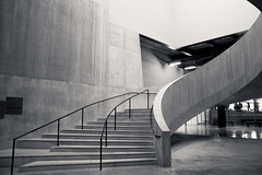 Tate Modern (Sally Dunford) Tags: sallydecember2016 tate modern staircase concrete tatemodern canon7d canon1755mm