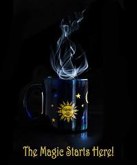 Coffee Magic (jim fleckenstein) Tags: canon 70d mug breakfast steam hot brew morning cupofjoe caffeine joe coffee