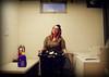 Week2_Work (Opal in the rough) Tags: laundry room basket washer dryer self portrait woman work housework 52weeks