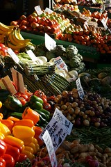 Produce Market (Let Ideas Compete) Tags: pikeplacemarket market publicmarket produce vegetables fruit