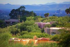 Foothills of Tucson (~ Lone Wadi ~) Tags: tucsonarizona americansouthwest pimacounty vista scenic sonorandesert mountains homes houses beauty