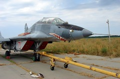 "MiG-29UB Fulcrum 5 • <a style=""font-size:0.8em;"" href=""http://www.flickr.com/photos/81723459@N04/32360080360/"" target=""_blank"">View on Flickr</a>"