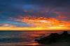 Calle de Conil, Costa de la Luz, Andalusia, Spain (Janos Kertesz) Tags: sun sunset sea water nature sky ocean wave beach blue landscape clouds cloud light sunrise