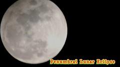 Penumbra Lunar Eclipse 2-10-2017 (John C. Akers jr.) Tags: prenumbral lunar eclipsse