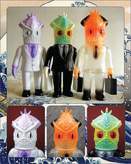Salari Ika (The Moog Image Dump) Tags: wonderwall salari ika frank kozik kaiju sofubi squid japan japanese toy figure salary man sea creature briefcase case wonder wall 鰞