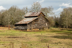 Old Rustic Barn - Abbeville Co.  S.C. (DT's Photo Site - Anderson S.C.) Tags: abbeville south carolina southernlife canon 6d 24105mml barn farm country road vintage vanishing rural america rustic