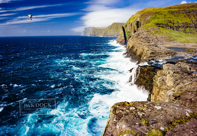 Bøsdalafossur Waterfall - Faroe Islands