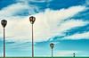 Candélabre (zebrazoma) Tags: candélabre streetlamppont bridge graphisme graphic sky ciel bleue blue personne person composition nikon d4 70200