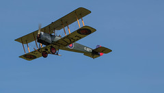 "Avro 504K, G-ADEV / E3273 • <a style=""font-size:0.8em;"" href=""http://www.flickr.com/photos/53908815@N02/18675094321/"" target=""_blank"">View on Flickr</a>"