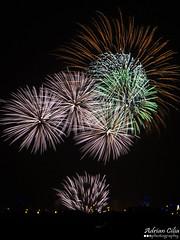 Malta --- Mqabba --- Fireworks (Drinu C) Tags: longexposure shells night feast colours fireworks sony malta dsc mqabba hx100v adrianciliaphotography